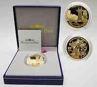Frankreich : 20 Euro Papstpalast Avignon, inkl. Originaletui und Zertifikat  2004 PP