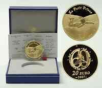 Frankreich : 20 Euro Der kleine Prinz liegt im Gras inkl. Originaletui und Zertifikat  2007 PP 20 Euro Kleiner Prinz