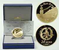 Frankreich : 20 Euro Der kleine Prinz und der Fuchs inkl. Originaletui und Zertifikat  2007 PP 20 Euro Kleiner Prinz