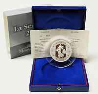 Frankreich : 20 Euro 50 Jahre Fünfte Republik inkl. Originaletui und Zertifikat  2008 PP 20 Euro Säerin Silber