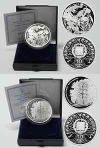 Griechenland : 20 Euro 2 x 10 Euro Nationalpark Pindos inkl. Originaletui und Zertifikat  2007 PP
