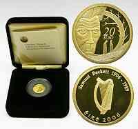 Irland 20 Euro Samuel Beckett 2006 PP