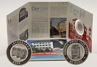 Luxemburg : 20 Euro 150 Jahre Staatsrat im Originalblister (Titan / Silber)  2006 PP 20 Euro Titan