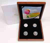Niederlande : 20 Euro Set: 4x5 Euro Tulpe farbig  2012 PP