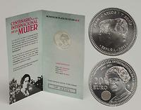 Spanien : 20 Euro Jahr der Frau  2011 Stgl.