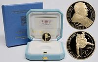 Vatikan : 20 Euro Die Bekehrung des Hl. Paulus  2012 PP