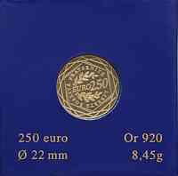 Frankreich : 250 Euro Säerin original verpackt 2009 Stgl.