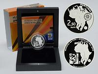 Portugal : 2,5 Euro Fußball  2010 PP