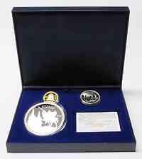 Spanien : 260 Euro Set aus : 10 + 50 (Silber)+ 200 Euro (Gold) inkl. Originaletui und Zertifikate  2007 PP