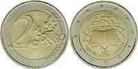 International : 2 Euro Römische Verträge, Set aus 12 Münzen = 12 Länder : Belgien, Deutschland, Finnland, Frankreich, Griechenland, Irland, Italien, Luxemburg, Niederlande, Österreich, Portugal, Spanien  2007 bfr 2 Euro Römische Verträge
