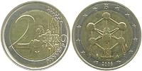 Belgien : 2 Euro Atomium Brüssel  2006 bfr