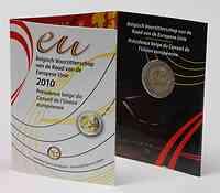 Belgien : 2 Euro EU-Präsidentschaft im Originalblister  2010 Stgl.