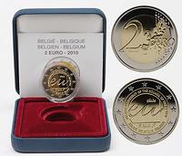 Belgien : 2 Euro EU-Präsidentschaft  2010 PP Belgien 2 Euro 2010 PP EU-Präsidentschaft