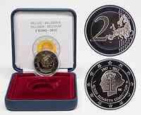 Belgien 2 Euro Elisabeth Musikwettbewerb 2012 PP