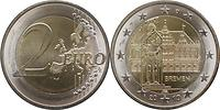 Deutschland : 2 Euro Bremen  2010 bfr