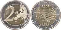 Finnland : 2 Euro 90. Jahrestag der Unabhängigkeit  2007 bfr