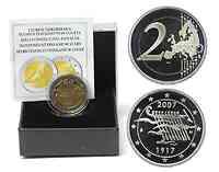 Finnland 2 Euro Unabhängigkeit 2007 PP
