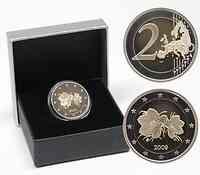 Finnland : 2 Euro Moltebeere Kursmünze inkl. Originaletui  2009 PP 2 Euro Moltebeere PP 2009