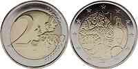 Finnland : 2 Euro 150 Jahre Finnische Währung 2010 bfr