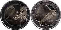 Finnland : 2 Euro 200 Jahre finnische Bank  2011 bfr