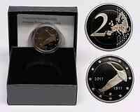 Finnland 2 Euro 200 Jahre finnische Bank 2011 PP