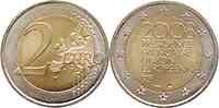 Frankreich : 2 Euro EU-Ratspräsidentschaft  2008 bfr 2 Euro Ratspräsidentschaft