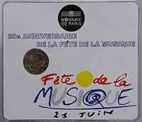 Frankreich : 2 Euro Musik Festival  2011 Stgl.