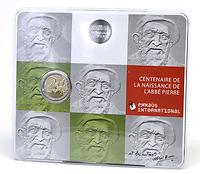 Frankreich : 2 Euro Abbé Pierre  2012 Stgl.