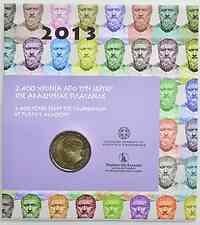 Griechenland 2 Euro Plato Akademie 2013 Stgl.