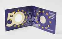 2 Euro Gedenkmünze 2007 / 2 Euro Sondermünze 2007 Irland Römische Verträge in Coincard