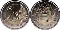 Italien : 2 Euro 10 Jahre Euro Bargeld  2012 bfr