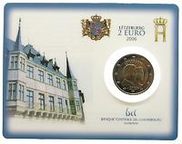 Luxemburg 2 Euro Geburtstag Guillaume in Coincard 2006