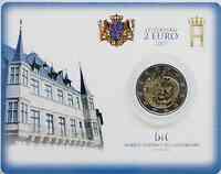 Luxemburg 2 Euro Großherzogliches Palais Coincard 2007