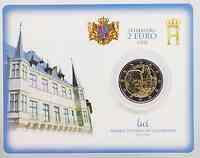 Luxemburg 2 Euro Chateau de Berg in Coincard 2008 Stgl.