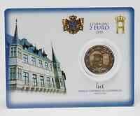 Luxemburg 2 Euro Coincard 2010 -selten-