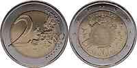 Luxemburg : 2 Euro 10 Jahre Euro Bargeld 2012 bfr