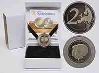 Niederlande 2 Euro Thronwechsel Doppelportrait 2013 PP