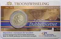 Niederlande 2 Euro Thronwechsel - in Coincard 2013