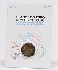 Portugal 2 Euro 10 Jahre Euro Bargeld 2012 Stgl Blister