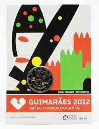 Portugal : 2 Euro Europäische Kulturhauptstadt Guimaraes  2012 Stgl.