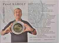 Slowakei : 2 Euro Samtene Revolution 2009 Stgl.
