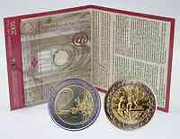 San Marino : 2 Euro Galileo Galilei  2005 Stgl.