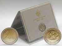Vatikan 2 Euro Schweizer Garde im Originalblister 2006