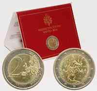 Vatikan 2 Euro Paulusjahr im Originalblister 2008 Stgl.