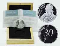 Slowenien : 30 Euro Valentin Vodnik  2008 PP 30 Euro Vodnik 2008