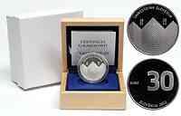 Slowenien : 30 Euro 20 Jahre Unabhängigkeit Sloweniens  2011 PP