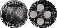 Spanien : 30 Euro 10 Jahre Euro Bargeld  2012 Stgl.