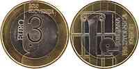 Slowenien : 3 Euro Ljubljana - UNESCO Weltbuchhauptstadt  2010 Stgl. 3 Euro Slowenien 2010