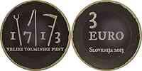 Slowenien : 3 Euro Tolmin  2013 PP
