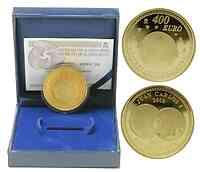 Spanien : 400 Euro Fünf Jahre Euro inkl. Originaletui und Zertifikat  2007 PP